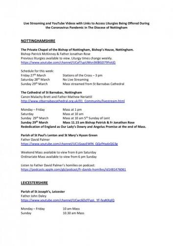 Nottingham Diocese Live Streaming and YouTube Videos-page-001